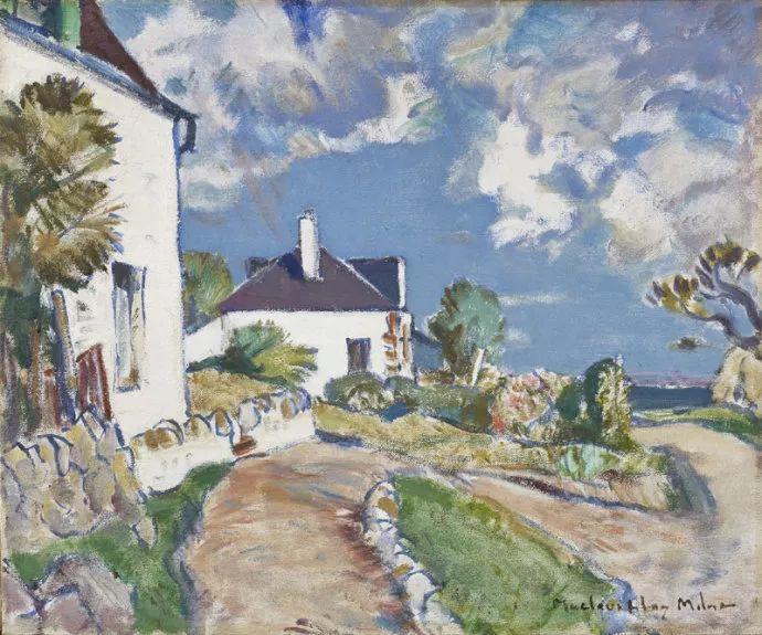 苏格兰画家John MacLauchlan Milne(1885–1957)插图33