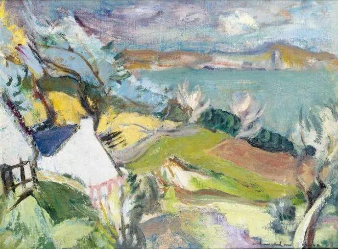 苏格兰画家John MacLauchlan Milne(1885–1957)插图37