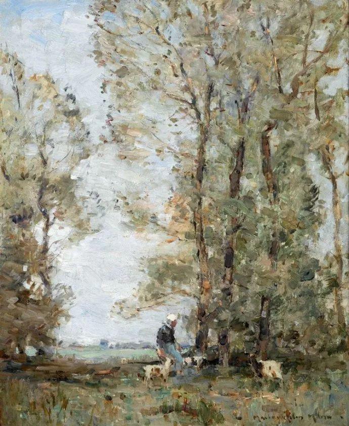 苏格兰画家John MacLauchlan Milne(1885–1957)插图41
