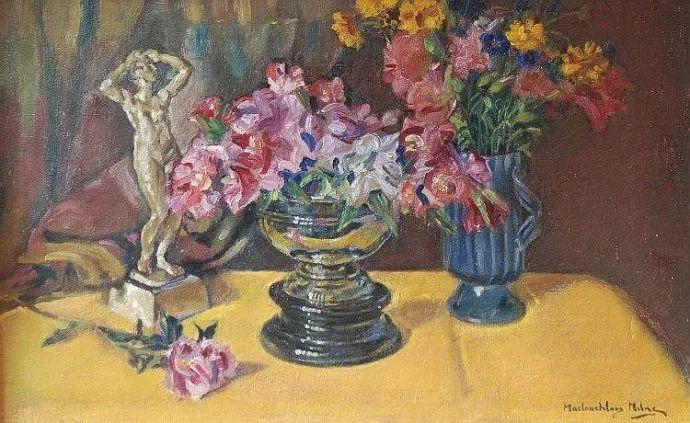 苏格兰画家John MacLauchlan Milne(1885–1957)插图51