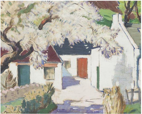 苏格兰画家John MacLauchlan Milne(1885–1957)插图55