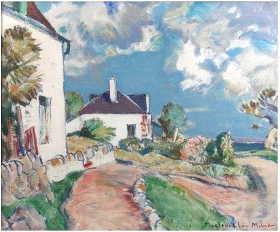 苏格兰画家John MacLauchlan Milne(1885–1957)插图57