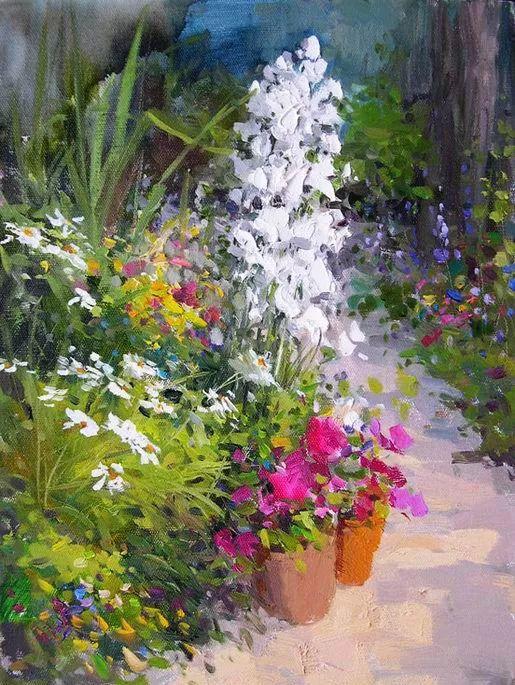 庭院静物画欣赏 俄罗斯Vitaly Malykh作品插图8