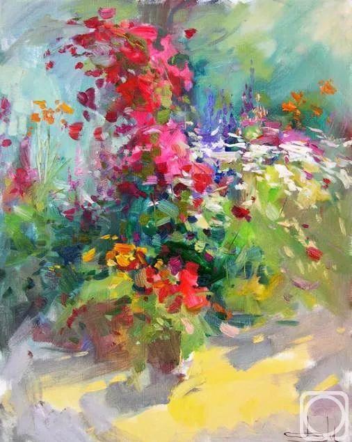 庭院静物画欣赏 俄罗斯Vitaly Malykh作品插图19