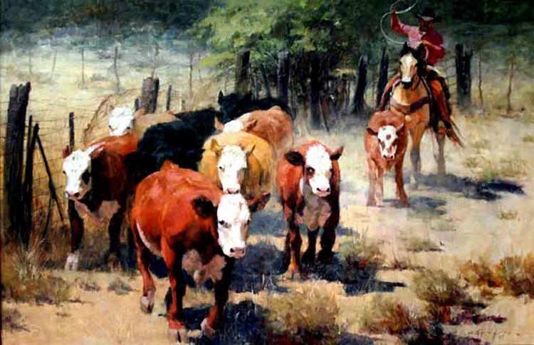 人物风景油画 美国Howard Rogers作品插图13