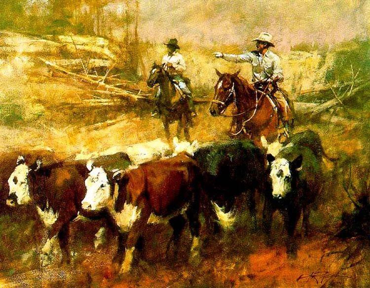 人物风景油画 美国Howard Rogers作品插图19