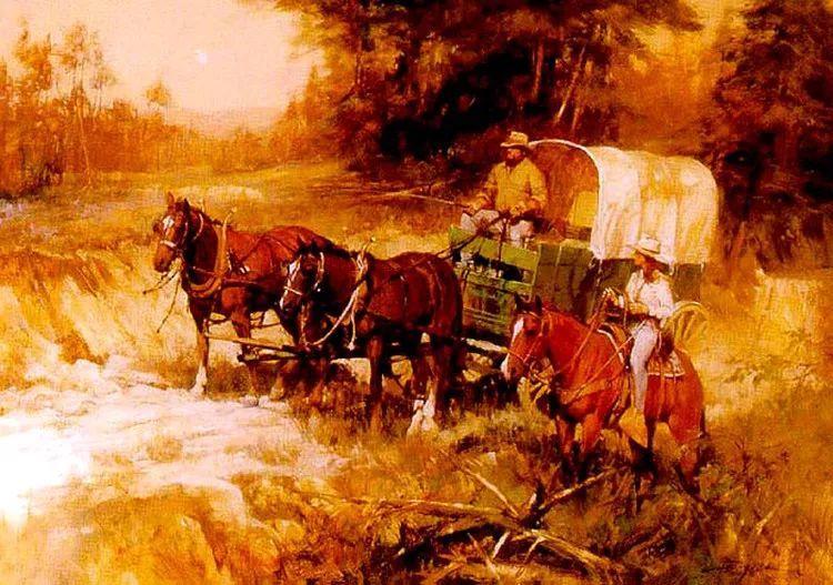 人物风景油画 美国Howard Rogers作品插图21