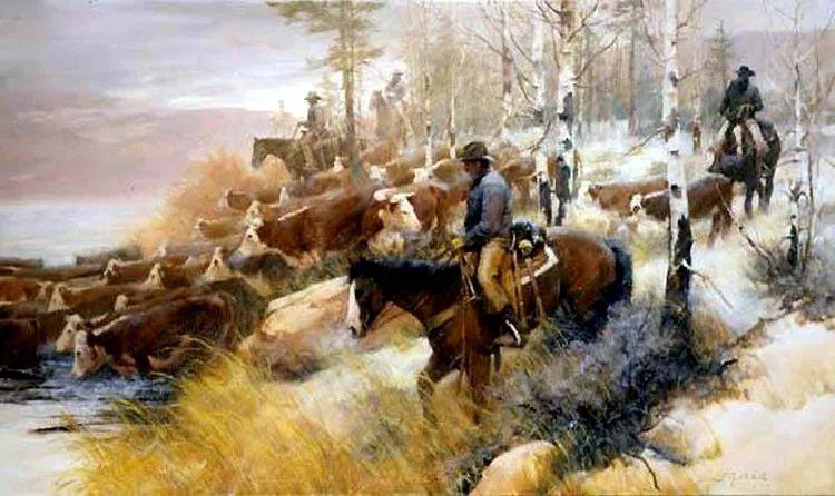 人物风景油画 美国Howard Rogers作品插图23