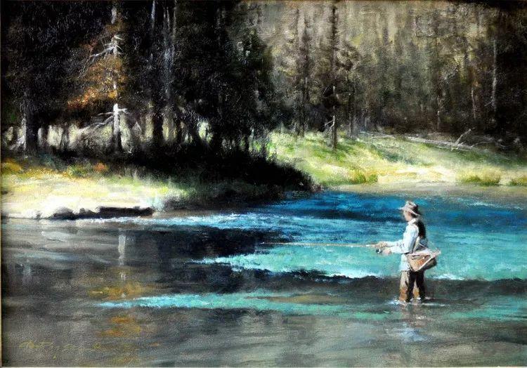 人物风景油画 美国Howard Rogers作品插图25