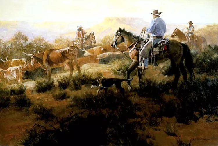 人物风景油画 美国Howard Rogers作品插图27