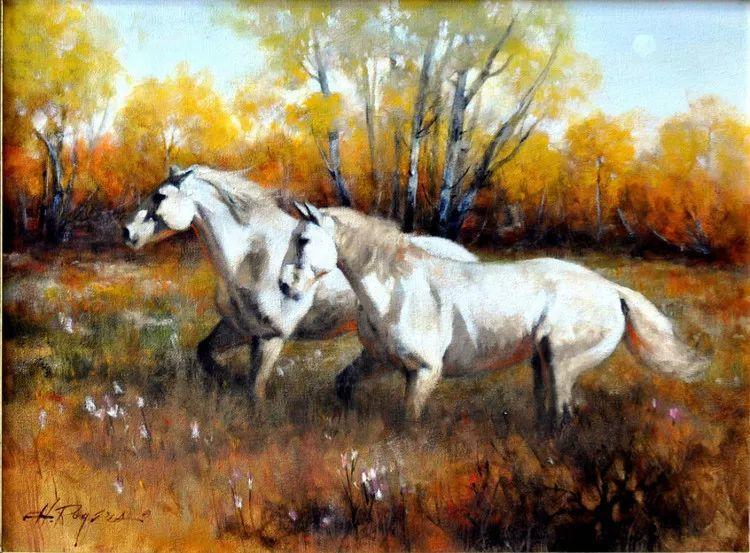 人物风景油画 美国Howard Rogers作品插图33