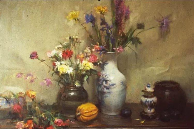花卉静物油画 旅美越南画家Quang Ho作品插图21