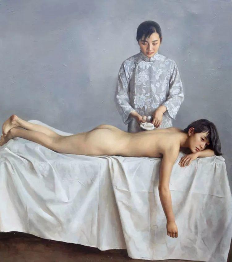 军营中走出的写实派画家 袁正阳作品欣赏插图13