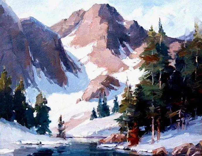 油画风景欣赏 美国Steve Songer作品插图21