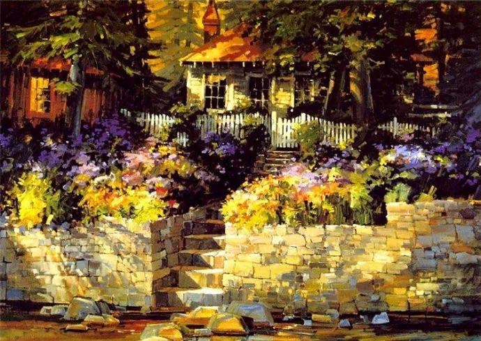 油画风景欣赏 美国Steve Songer作品插图33
