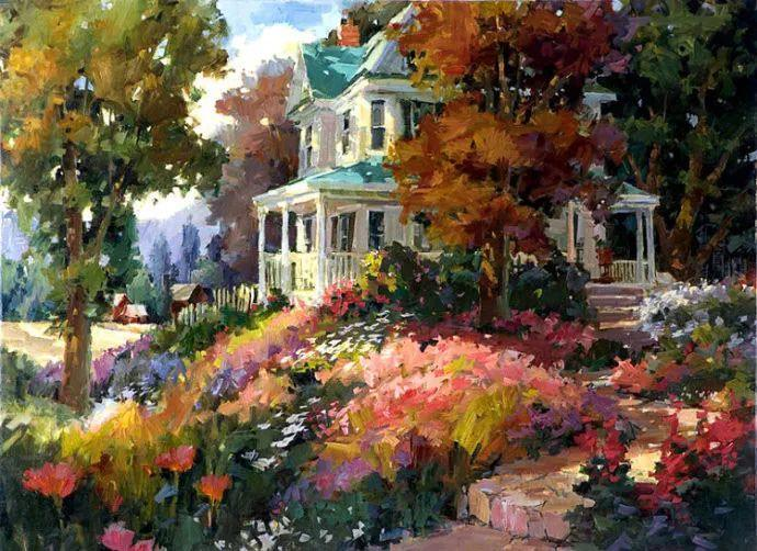 油画风景欣赏 美国Steve Songer作品插图47