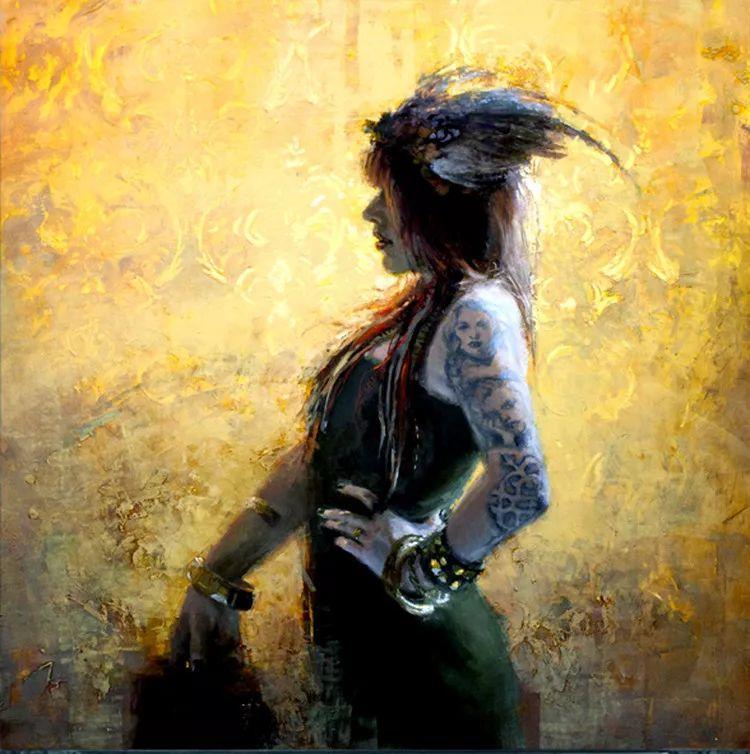 人物油画欣赏 美国艺术家Jeremy Mann插图9