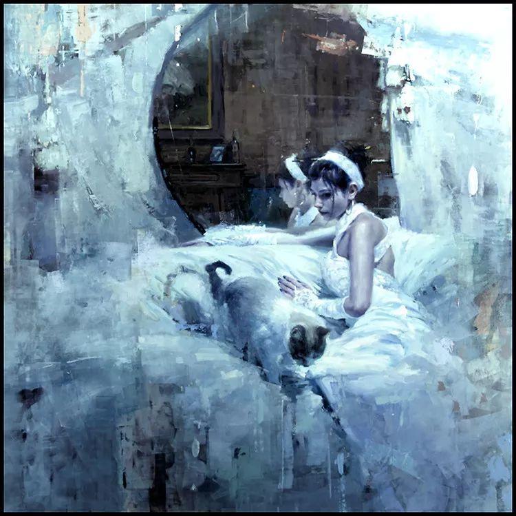 人物油画欣赏 美国艺术家Jeremy Mann插图29