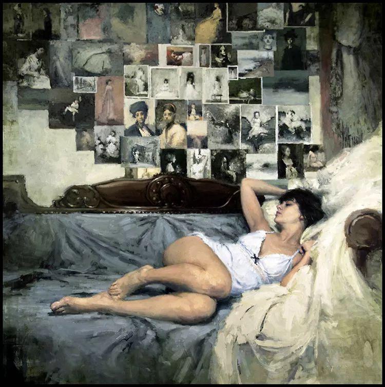 人物油画欣赏 美国艺术家Jeremy Mann插图31