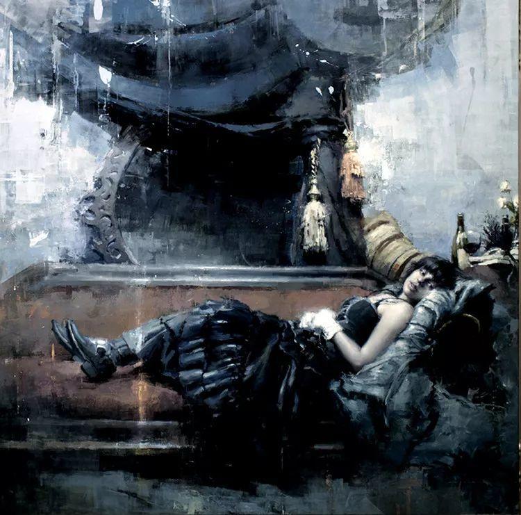 人物油画欣赏 美国艺术家Jeremy Mann插图41