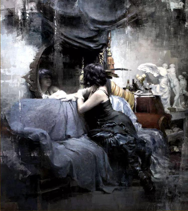 人物油画欣赏 美国艺术家Jeremy Mann插图45
