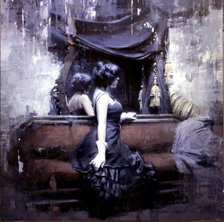 人物油画欣赏 美国艺术家Jeremy Mann插图47