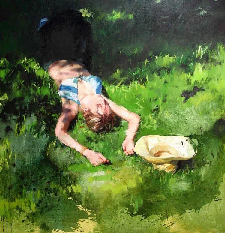 人物风景 西班牙女画家Susana Ragel作品插图1