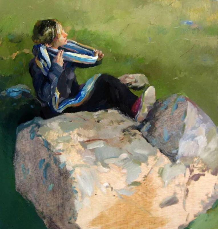 人物风景 西班牙女画家Susana Ragel作品插图3