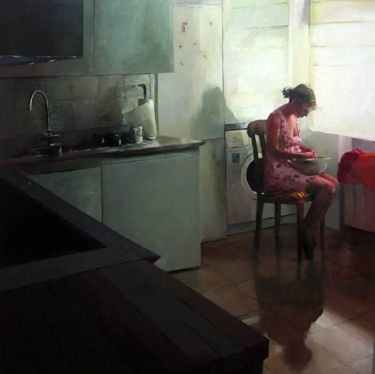 人物风景 西班牙女画家Susana Ragel作品插图7