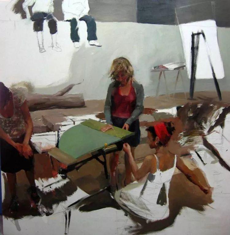 人物风景 西班牙女画家Susana Ragel作品插图9