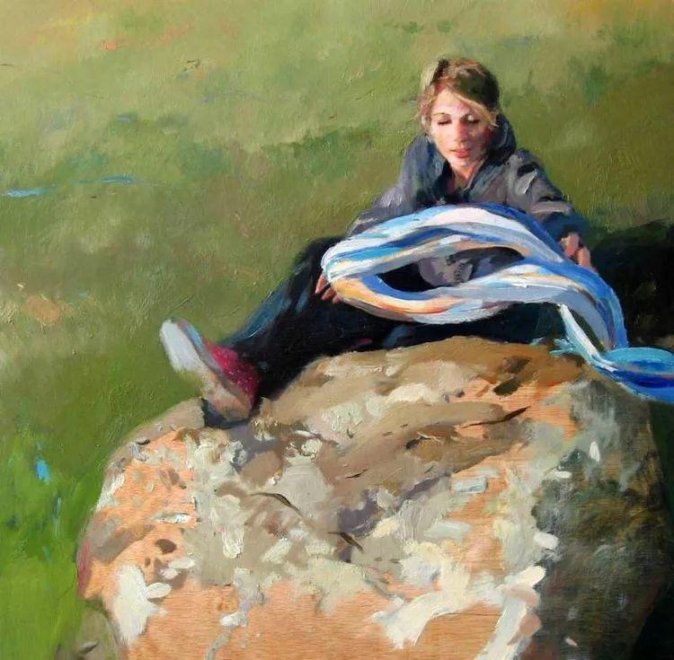 人物风景 西班牙女画家Susana Ragel作品插图23
