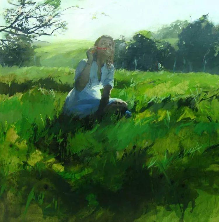 人物风景 西班牙女画家Susana Ragel作品插图25