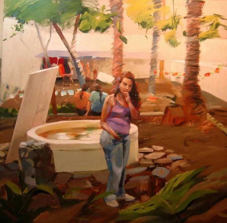 人物风景 西班牙女画家Susana Ragel作品插图47