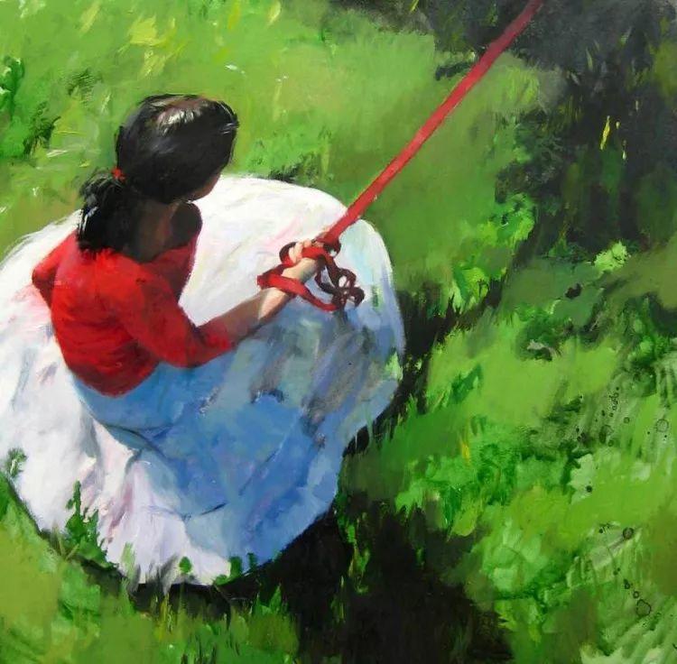 人物风景 西班牙女画家Susana Ragel作品插图69