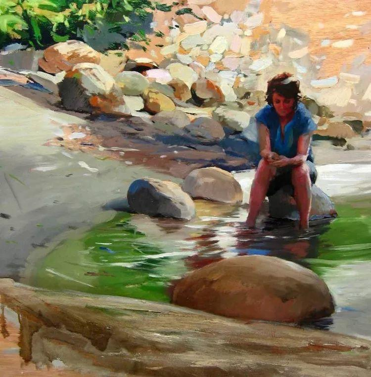 人物风景 西班牙女画家Susana Ragel作品插图79