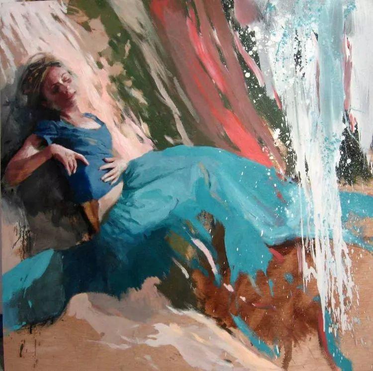 人物风景 西班牙女画家Susana Ragel作品插图87