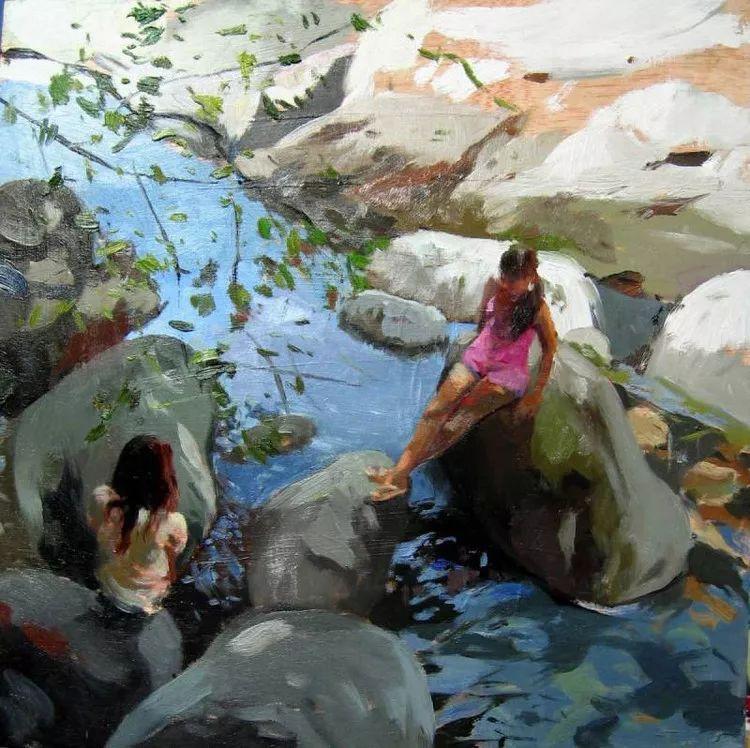 人物风景 西班牙女画家Susana Ragel作品插图107