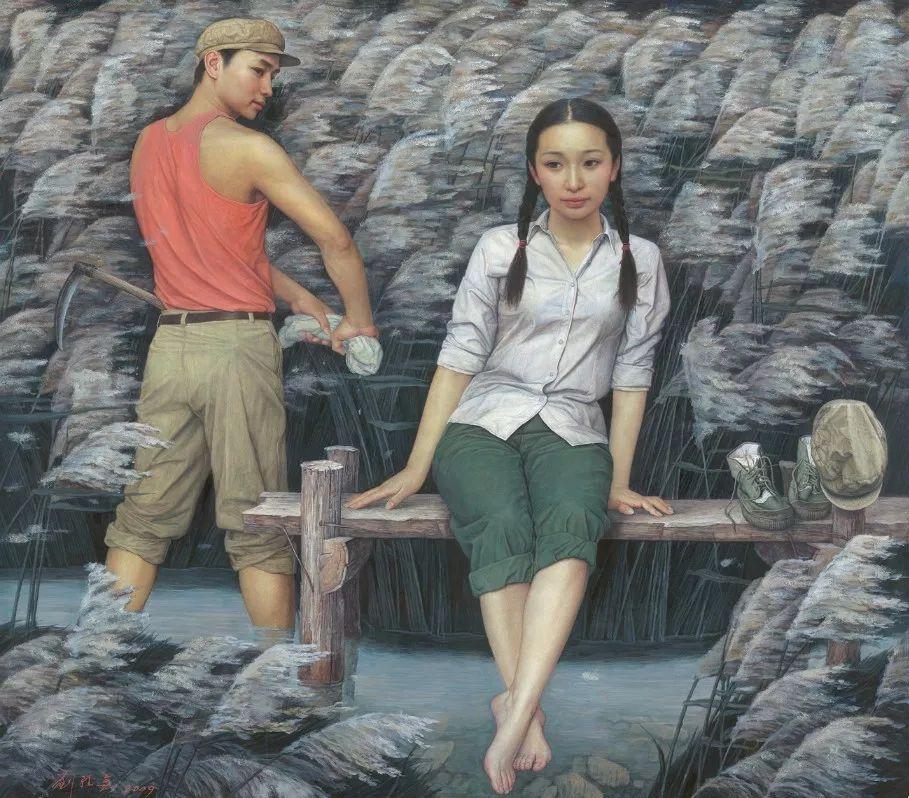 首都师范大学美术学院教授 刘孔喜作品欣赏插图23