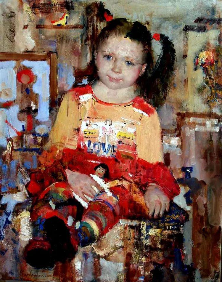 人物油画 俄罗斯Andrey Kartashov作品插图3