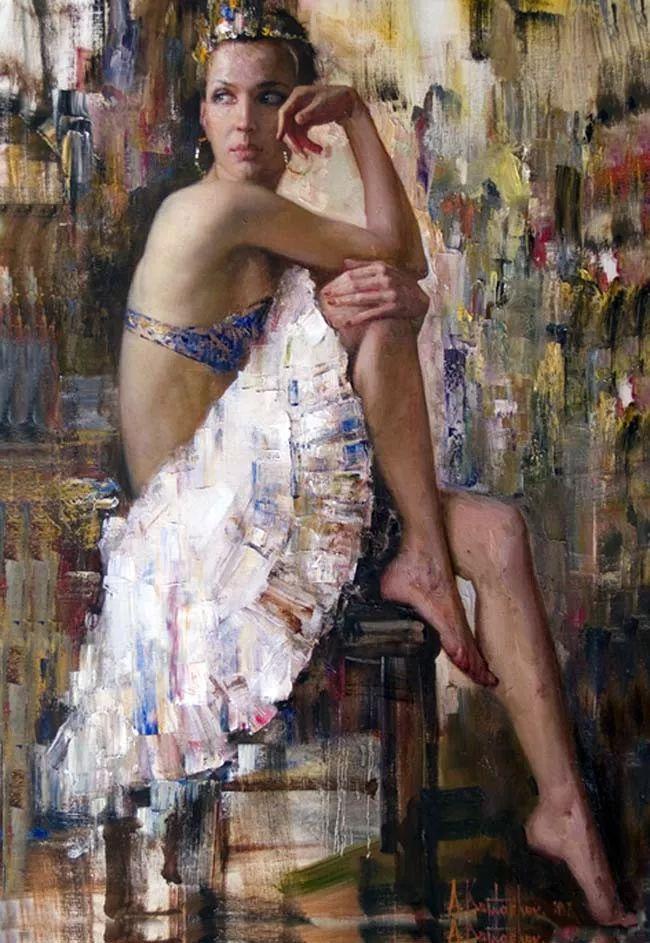 人物油画 俄罗斯Andrey Kartashov作品插图19