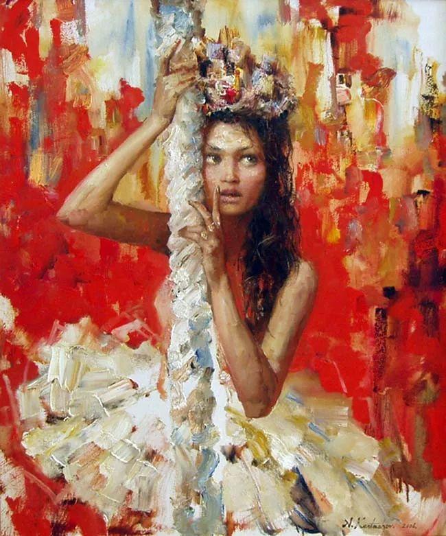 人物油画 俄罗斯Andrey Kartashov作品插图23