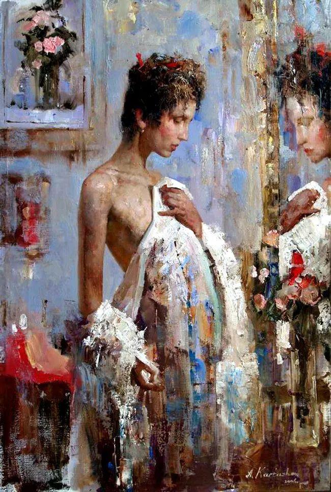 人物油画 俄罗斯Andrey Kartashov作品插图36
