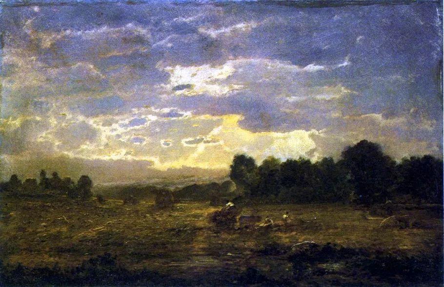 巴比松画派 法国Théodore Rousseau作品欣赏插图1