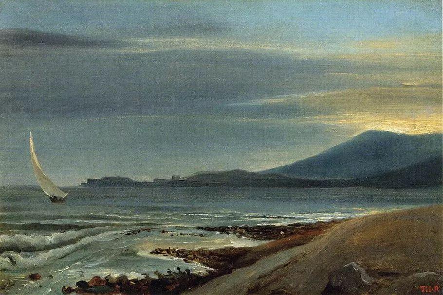 巴比松画派 法国Théodore Rousseau作品欣赏插图3