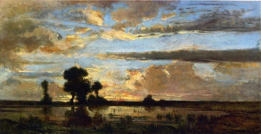 巴比松画派 法国Théodore Rousseau作品欣赏插图5