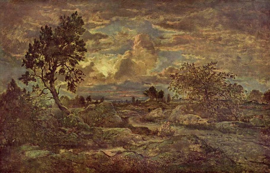 巴比松画派 法国Théodore Rousseau作品欣赏插图7