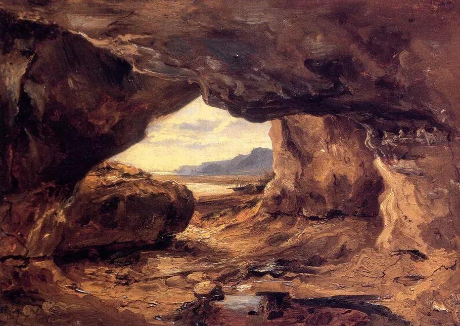 巴比松画派 法国Théodore Rousseau作品欣赏插图11
