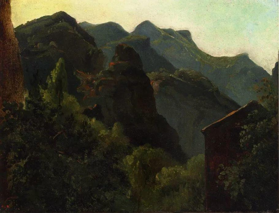 巴比松画派 法国Théodore Rousseau作品欣赏插图17