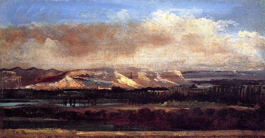巴比松画派 法国Théodore Rousseau作品欣赏插图29