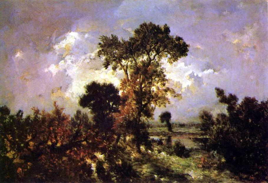 巴比松画派 法国Théodore Rousseau作品欣赏插图31
